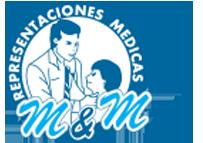 Representaciones Médicas Logo